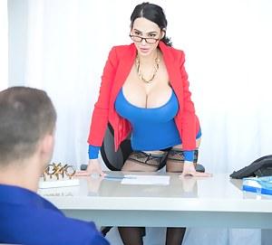 Big Boob Boss Porn Pictures